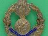 Royal Welsh Fusiliers. Sweetheart badge. 29x33 mm.