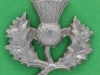 CW318. 14th Battalion The London Scottish. Left collar badge.  23x23 mm.