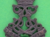 KK 1839. 13th County of London Battalion Kensington beret ww2 & collar officers. 28x31 mm.