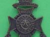 KK 1853. 21st Battalion First Surrey Rifles the London Regiment. Slide 30x44 mm.