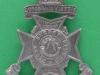 KK 1853. 21st City of London Battalion, First Surrey Rifles. Incorrect date 1903. Slide  32x44 mm.