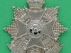 5th (Royal Cumberland Militia) Battalion Border Regiment Cap Badge. 47x52 mm.