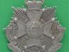 KK 1725. 4th Battalion Border Cumberland & Westmoreland Regiment. Territorial Army 192-1947. Slide Gaunt. 47x51 mm.