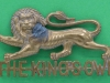 KK 592. The Kings Own Royal Lancaster Regiment. Smaller badge, slide 55x32 mm.