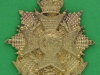 KK 645. The Border Regiment cast brass badge. 46x48 mm.