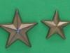 Stjerne M39, stor og lille til regiments- og kompagnichefer, 21 og 16 mm