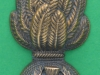 CW184. The Royal Scots Fusiliers. Officers service dress collar badge. 26x57 mm (1)