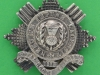Cox 1482. Gaylor 26. Pipers badge. 1st Royal Scots Fusiliers. two parts. (1800 kr) 67 mm.