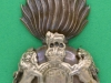KK 1959. Royal Scots Fusiliers. Officers cap badge. 34x66 mm.