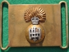 RH154, Royal Highland Fusiliers, Officers old waist belt clasps, 30 x 50mm (1)