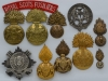 The Royal Scots Fusiliers badges.