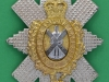 KK 2004.  The Black Watch 1953 officers, gilt and silv cap badge. 59x76 mm.