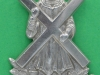RH195. Black Watch sporran badge. 29x42 mm.