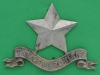 Cox 1494. Pipers badge, Cameronians 1921-68. stor 3 lugs 64x61 mm.