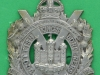 KK 628. Kings Own Scottish Borderers. Small badge in relief. 47x66 mm.