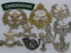The Cameronians Scottish Rifles badge group.