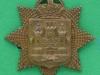 CW205. The East Surrey Regiment collar badge. 31x32 mm.