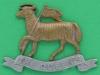 KK 590. The Queens Royal West Surrey Regiment 1914. Brace holes, lugs 53x39 mm.