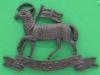KK 590. The Queens Royal West Surrey Regiment. Officers bronce cap badge. Replaced lugs 55x39 mm.