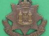 KK 640. East Surrey Regiment. Officers Bronce cap badge, Gaunt London. 42x43 mm.