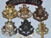 The East Surrey Regiment badges