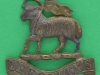 The Queens West Surrey Regiment. Badge of unlnown use. Replaced lugs 42x44 mm.
