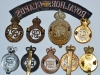 Horse Guards and Household Cavalry badges reverse.