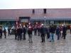 Deltagere ankommer til flagdag