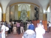 Konfirmation i en katolsk kirke i Cartagena