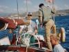 1991 12 18,  Med Gran Canaria bag os