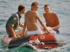 1991 12, Hinze, Poul & Anders retur til båden