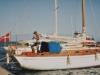 Anicula ved broen som var udsat for Hugo i 1989