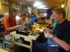 Miyajima Shrine tour, inde og spise på restaurant hvor vi fik en ret med østers