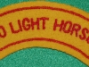 10th Light Horse with border