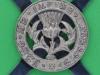 KK 2024. The Lowland Brigade Officers cap badge. 53x52 mm.