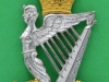 KK 2035. North Irish Brigade. Officers silv and gilt cap badge. Slide Gaunt 33x48 mm.