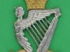 KK 2047. Royal Irish Rangers. (1968-1992, Inniskilling, Ulster Rifles & Irish Fusiliers) Pipers badge. Four lugs 54x78 mm.