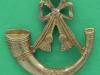 Somerset & Cornwall Light Infantry 1958-69. Beret badge, maybe officers. Slide 35x34 mm.