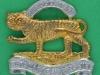 KK 1983. The Royal Leicestershire Regiment 1968. Beret badge, slide 6 braceholes 36x34 mm.