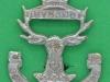 Gordon Highlanders. Purse sporran badge. 28x39 mm.