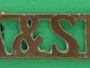 RW1407. Argyll & Sutherland Highlanders. Shoulder title gul 12x38 mm