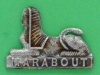CW 219. Dorset Regiment collar badge. 30x21 mm.