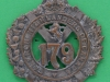 BLO437 The 79th Cameron Highlanders of Canada 1910-1920 cap badge 51 x 57mm