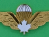 Canadian Parachute wing basis. Scully 65 mm.