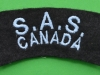 Canadian SAS shoulder patch 80 x 30mm