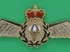 Royal Canadian Air Force para wing, 70x31 mm. Rideau 1986. 70x31 mm.