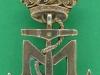 Marineforeningen. sølvstemplet. 23x40 mm.