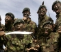 Kukri lessons The Gurkhas display their traditional weapon of choice