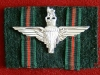 GIPC cap badge on Brgade of Gurkhas badge backing