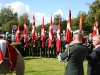 The Colour Guards & the musicians